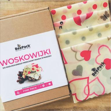 再利用・リサイクル可な食品ラップ「Woskowijki」(ヴォスコヴィイキ)10