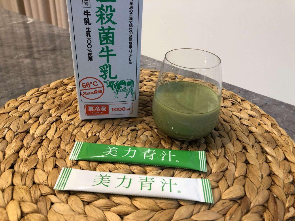 【妊婦とママ】高橋ミカさんプロデュース「美力青汁」8