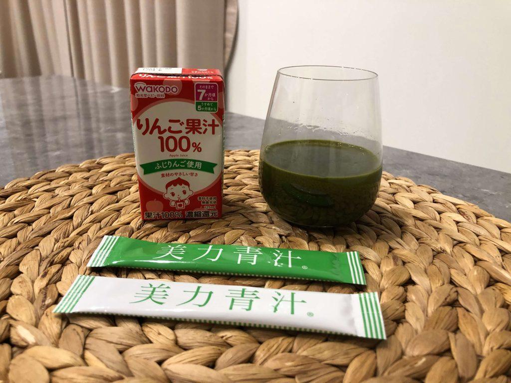 【妊婦とママ】高橋ミカさんプロデュース「美力青汁」19