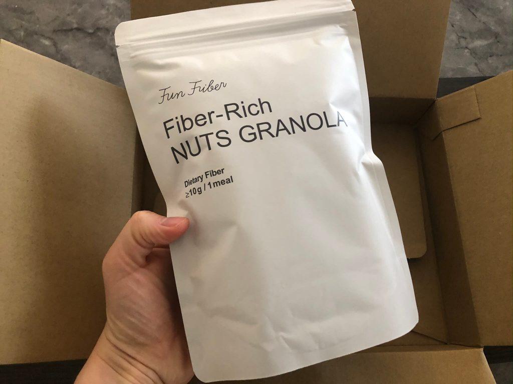 fun fiber(ファンファイバー)のナッツグラノーラの口コミと比較10