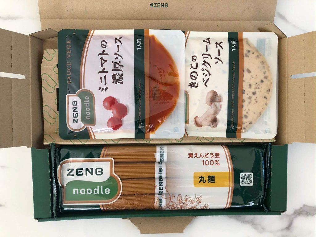 黄えんどう豆100%のZENB NOODLE(ゼンブヌードル)・小麦パスタとの比較22