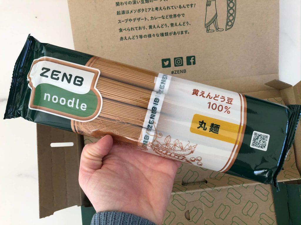 黄えんどう豆100%のZENB NOODLE(ゼンブヌードル)・小麦パスタとの比較27