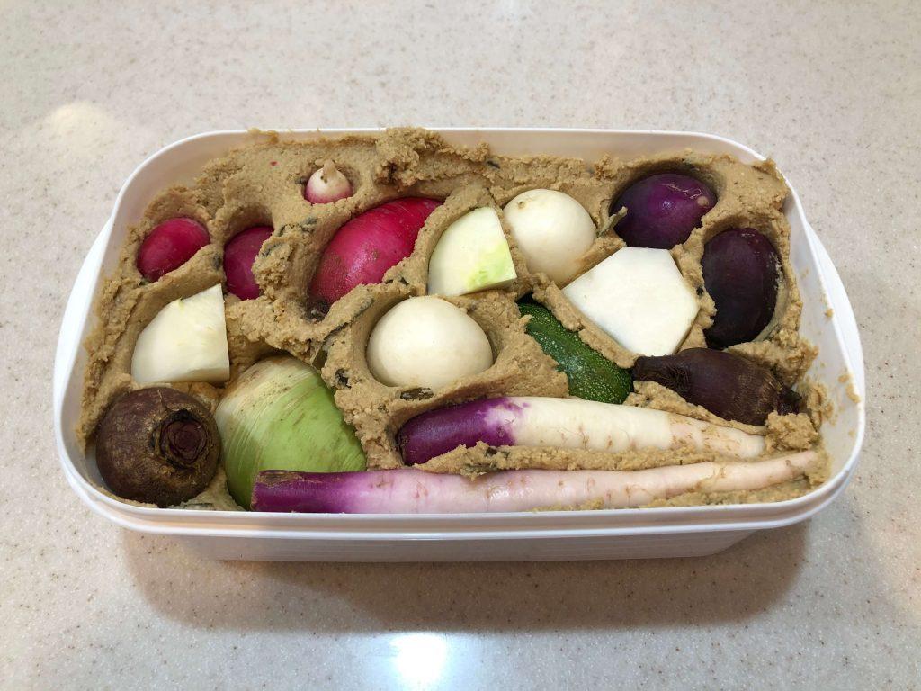 腸活ミニ野菜セットでぬか漬けライフ37