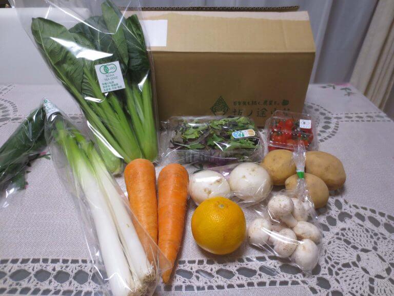 有機野菜宅配の坂ノ途中を取材・他社と比較した57