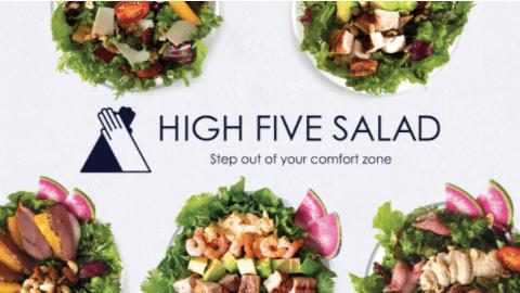 野菜とたんぱく質が摂れる!パワーサラダ専門店「High Five Salad」のメニューと口コミ体験談4