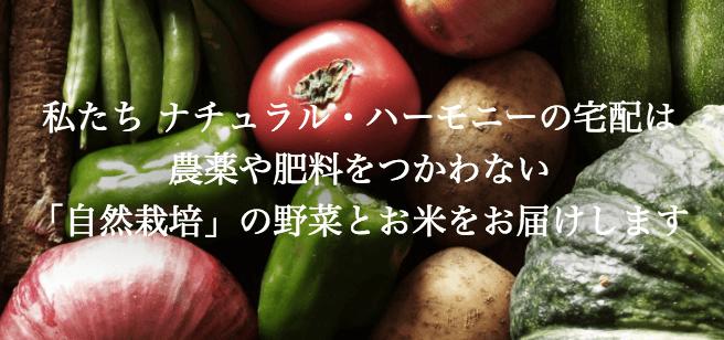 自然栽培野菜宅配・口コミが高い比較ランキング7