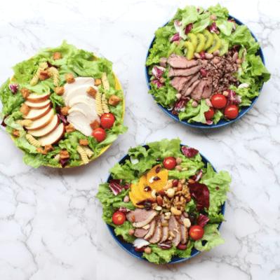野菜とタンパク質のパワーサラダで痩せる!おすすめレシピと宅配サービス10