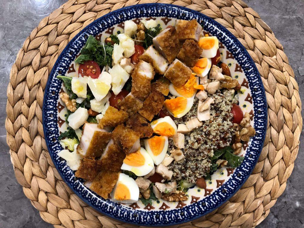 野菜とタンパク質のパワーサラダで痩せる!おすすめレシピと宅配サービス20