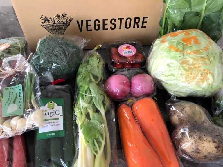 無農薬・無化学肥料の野菜宅配「VEGE STORE」をお試し!口コミと評判47