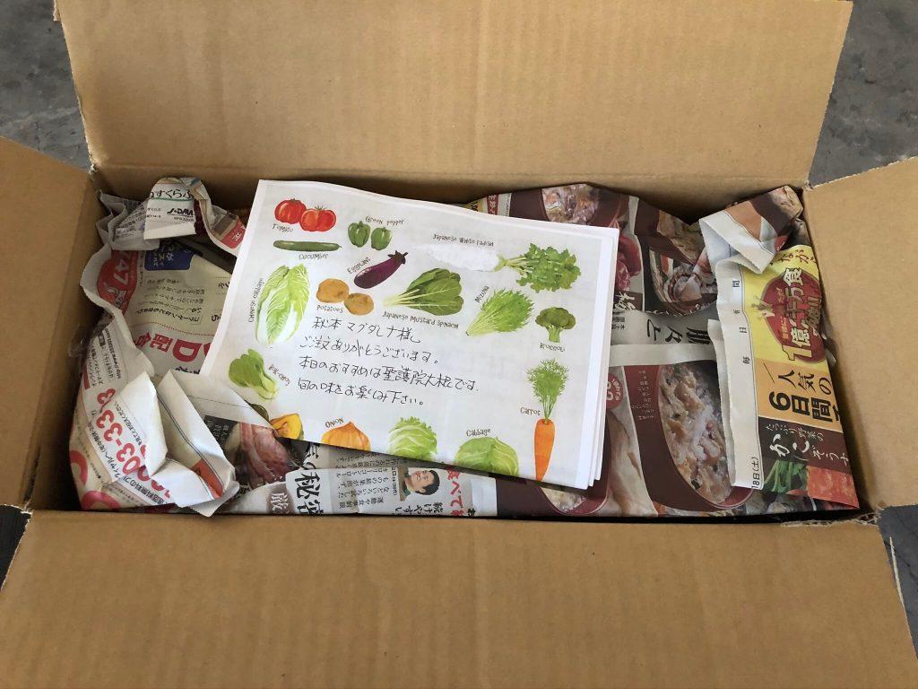翔栄ファーム(SYOUEI FARM)の無農薬・自然栽培野菜を大手宅配と比較!16