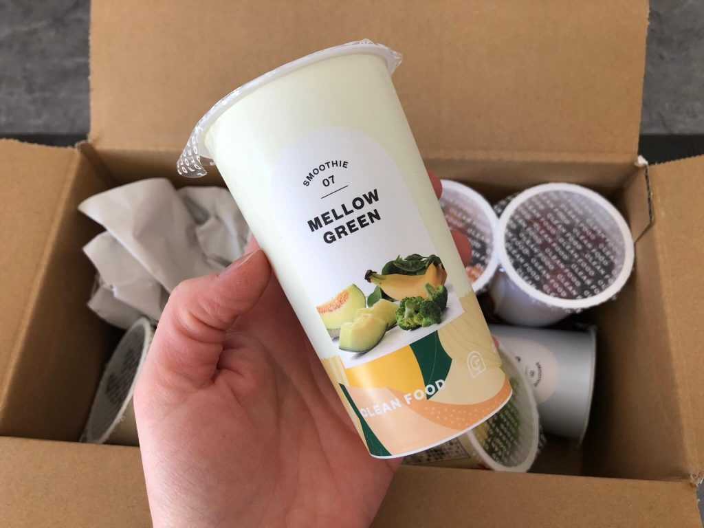 CLEAN FOOD(クリーンフード)の野菜&果物の冷凍スムージー宅配口コミ18
