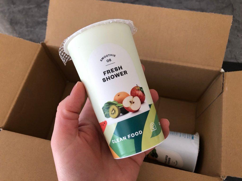 CLEAN FOOD(クリーンフード)の野菜&果物の冷凍スムージー宅配口コミ28