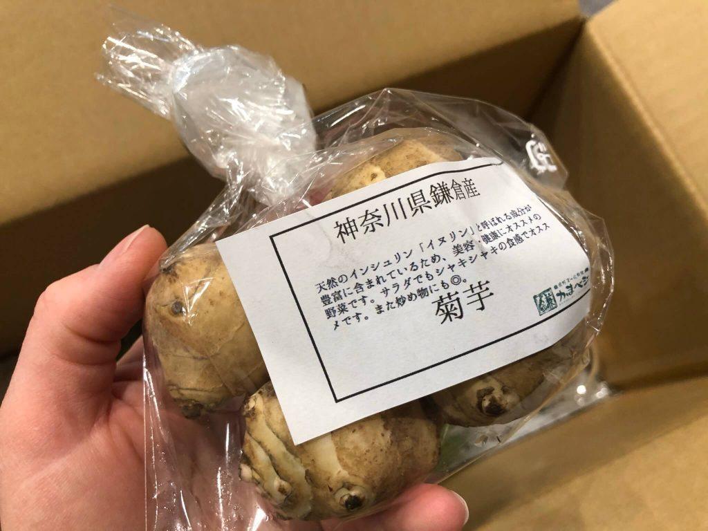 鎌倉直産野菜宅配「かまベジ」のお試しセットを注文24