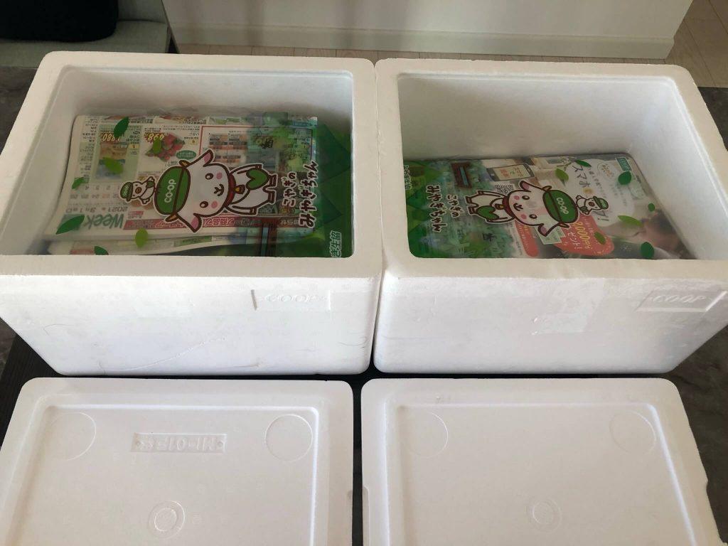 野菜ソムリエがコープ東北の食材宅配サービスを利用28