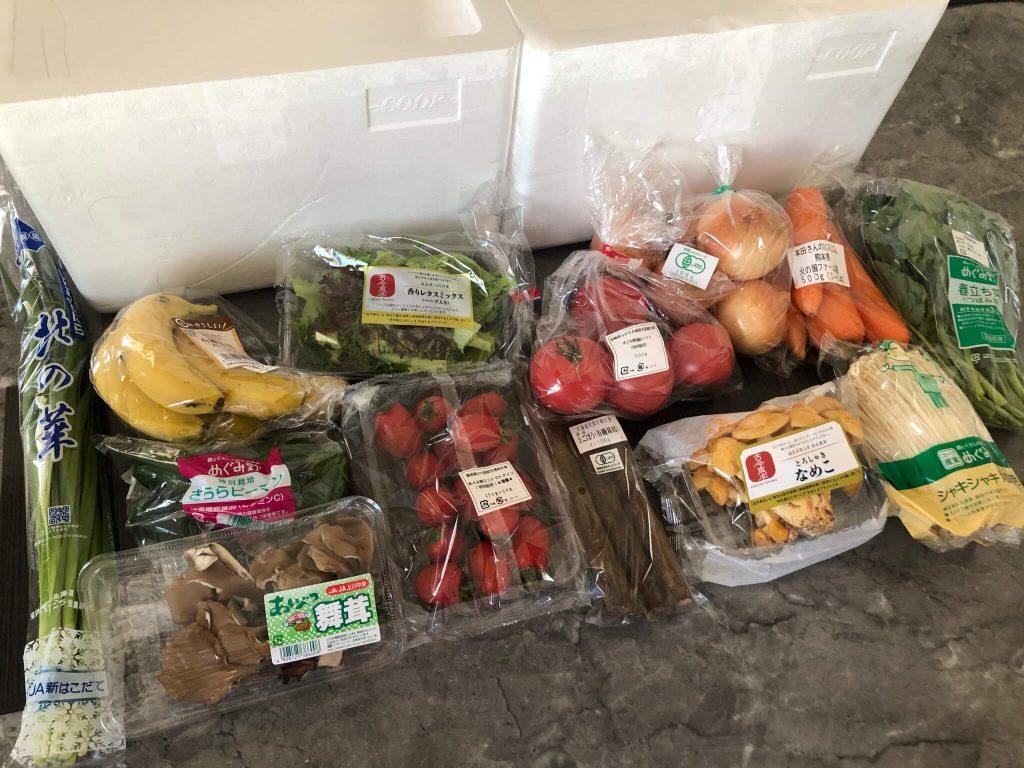 野菜ソムリエがコープ東北の食材宅配サービスを利用46