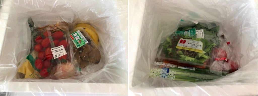 野菜ソムリエがコープ東北の食材宅配サービスを利用55