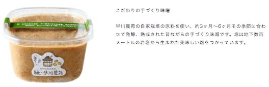 綾・早川農苑の無農薬野菜セットを注文9