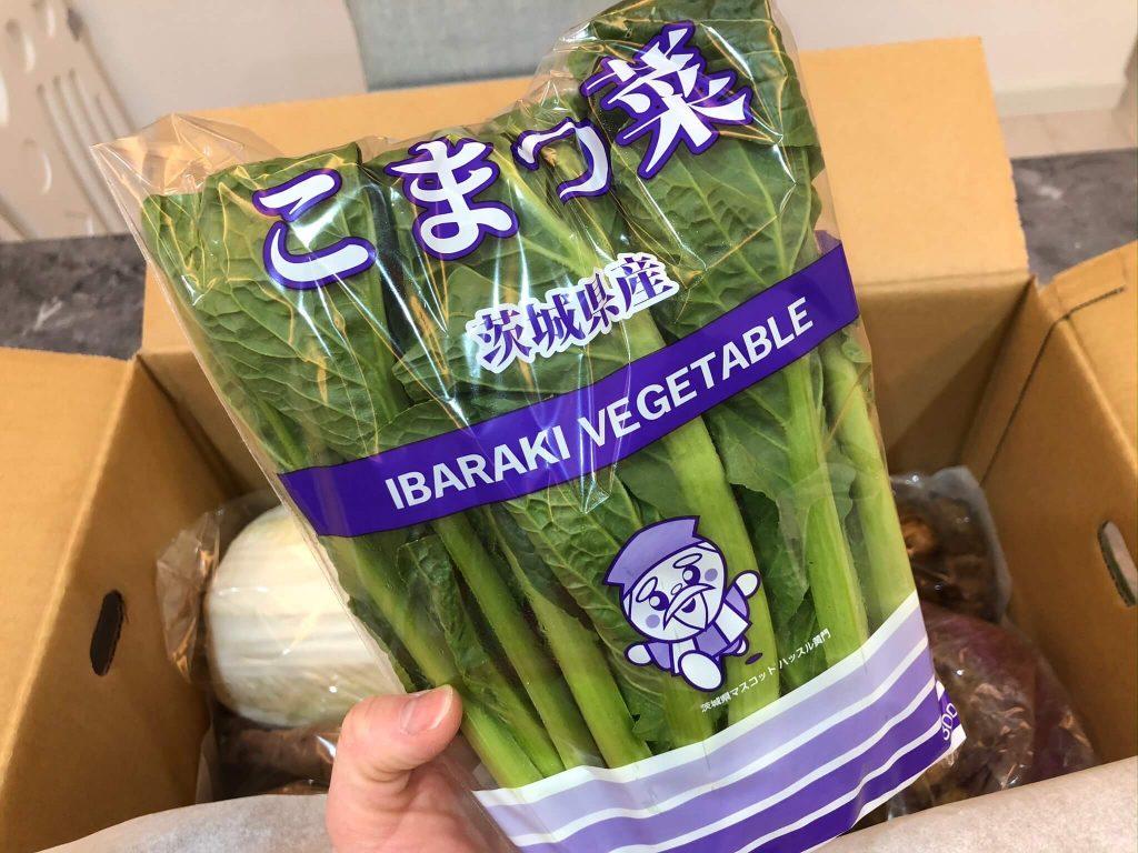 茨城県産自然栽培野菜セットをお試し・おお槻農園@百笑懸命26