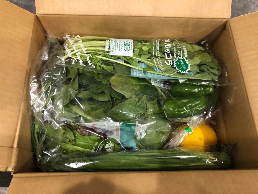 むつみ屋の有機野菜・自然食品通販サービスの有機野菜セットをお試し33