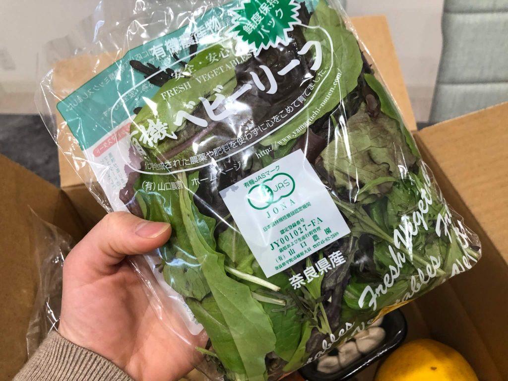 むつみ屋の有機野菜・自然食品通販サービスの有機野菜セットをお試し40
