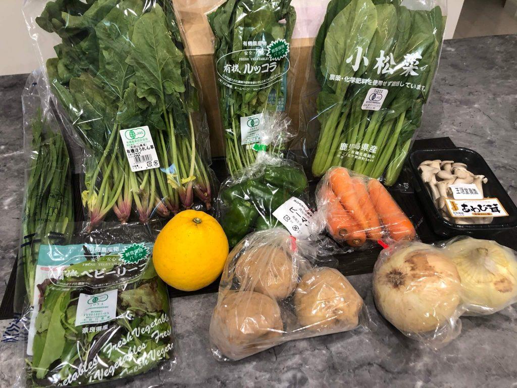 むつみ屋の有機野菜・自然食品通販サービスの有機野菜セットをお試し48