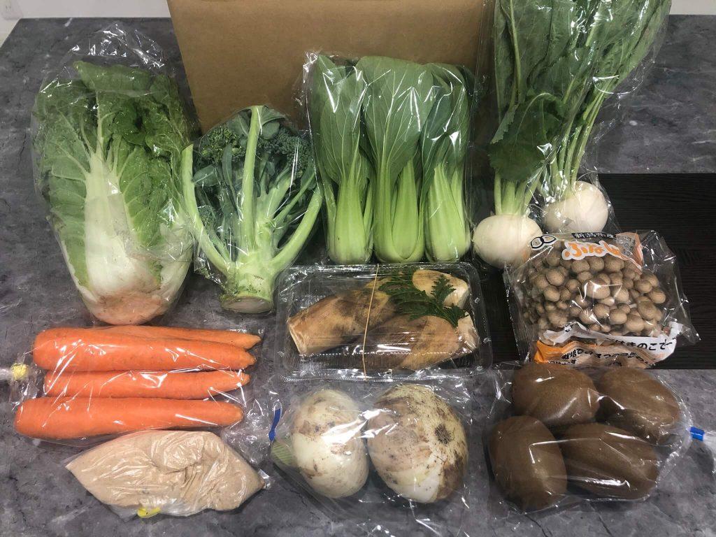 ベジフルマルシェの有機野菜のお試しセットの口コミ46