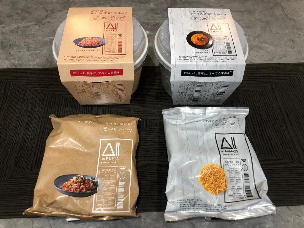 日清食品の完全栄養食・「All-in PASTA」と「All-in NOODLE」の口コミ・評判47