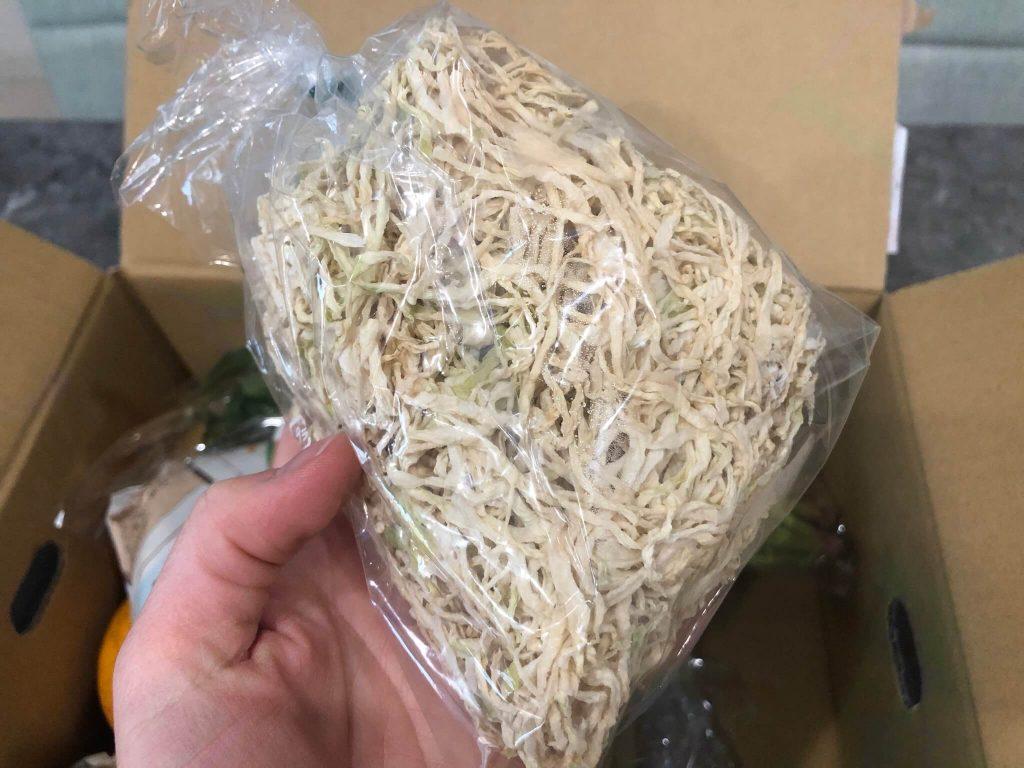 綾・早川農苑の無農薬野菜セットを注文23