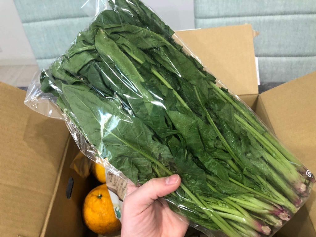綾・早川農苑の無農薬野菜セットを注文26