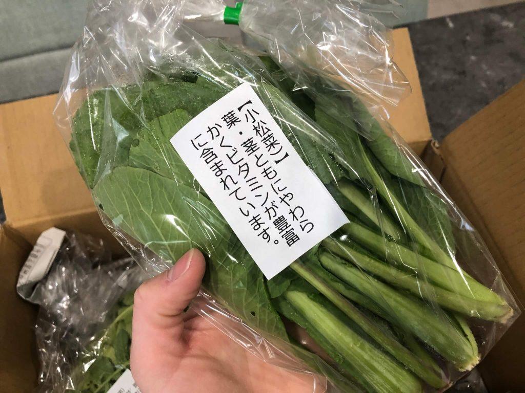あなた専用個人農家・自然栽培野菜の宅配「ベジモ」のお試しセットの口コミ7