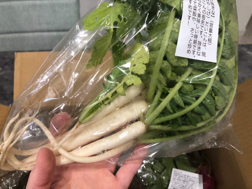 あなた専用個人農家・自然栽培野菜の宅配「ベジモ」のお試しセットの口コミ9