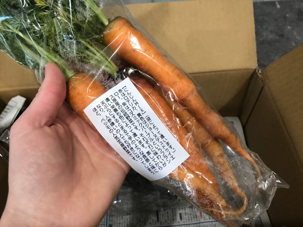あなた専用個人農家・自然栽培野菜の宅配「ベジモ」のお試しセットの口コミ14