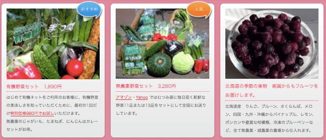むつみ屋の有機野菜・自然食品通販サービスの有機野菜セットをお試し4