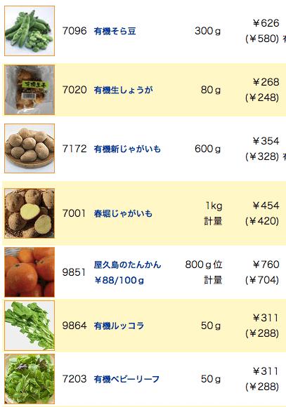 むつみ屋の有機野菜・自然食品通販サービスの有機野菜セットをお試し10