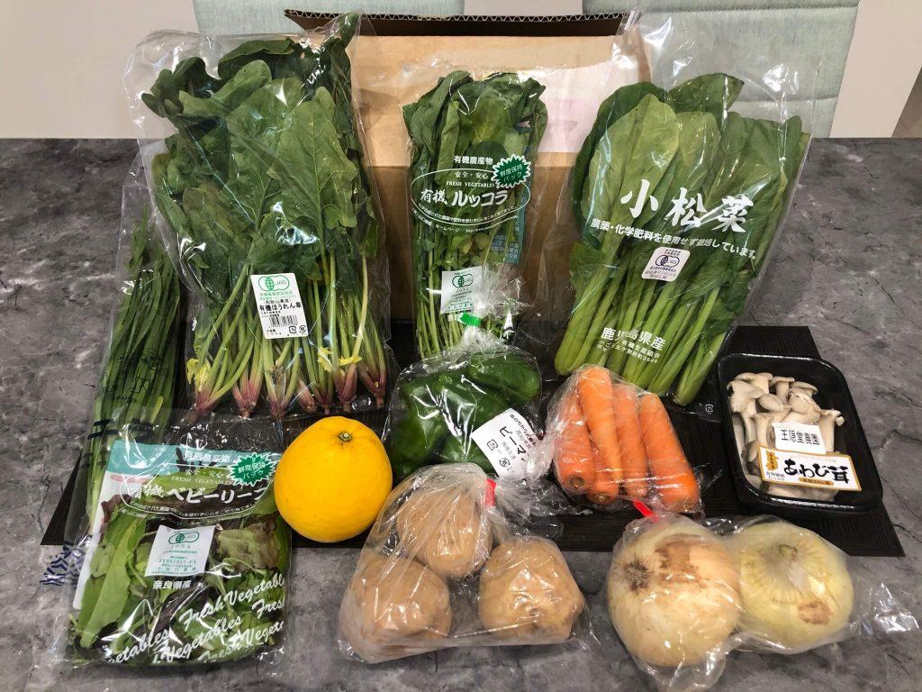 むつみ屋の有機野菜・自然食品通販サービスの有機野菜セットをお試し49