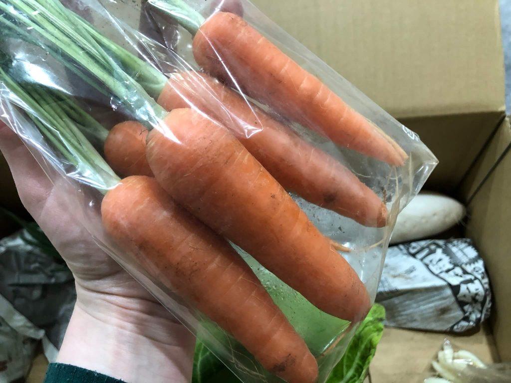 茨城県産の無農薬・有機野菜の宅配「コトコトファーム」の野菜セットの口コミ24