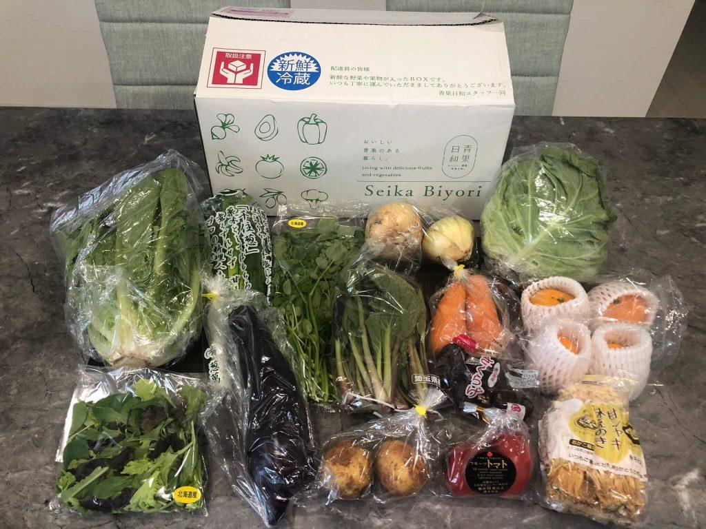【口コミ・評判】青果日和の野菜のお試しセット45