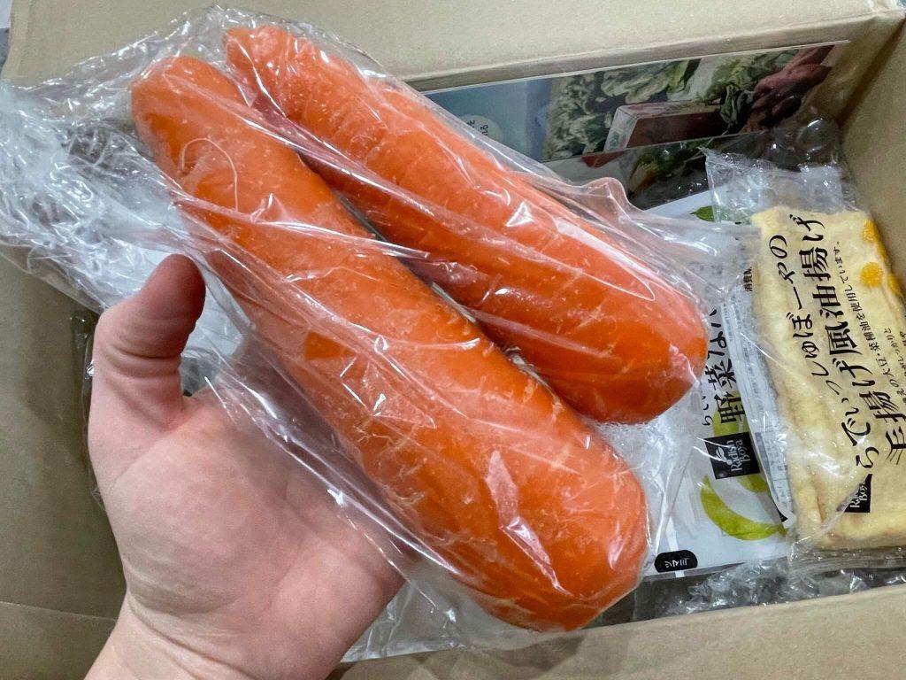 有機野菜宅配らでぃっしゅぼーやの不揃い野菜&食材セットのお試し・口コミ27