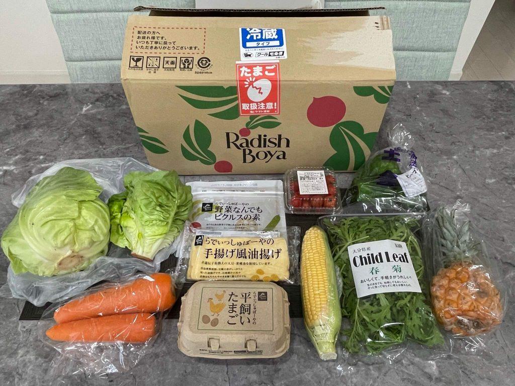 有機野菜宅配らでぃっしゅぼーやの不揃い野菜&食材セットのお試し・口コミ39