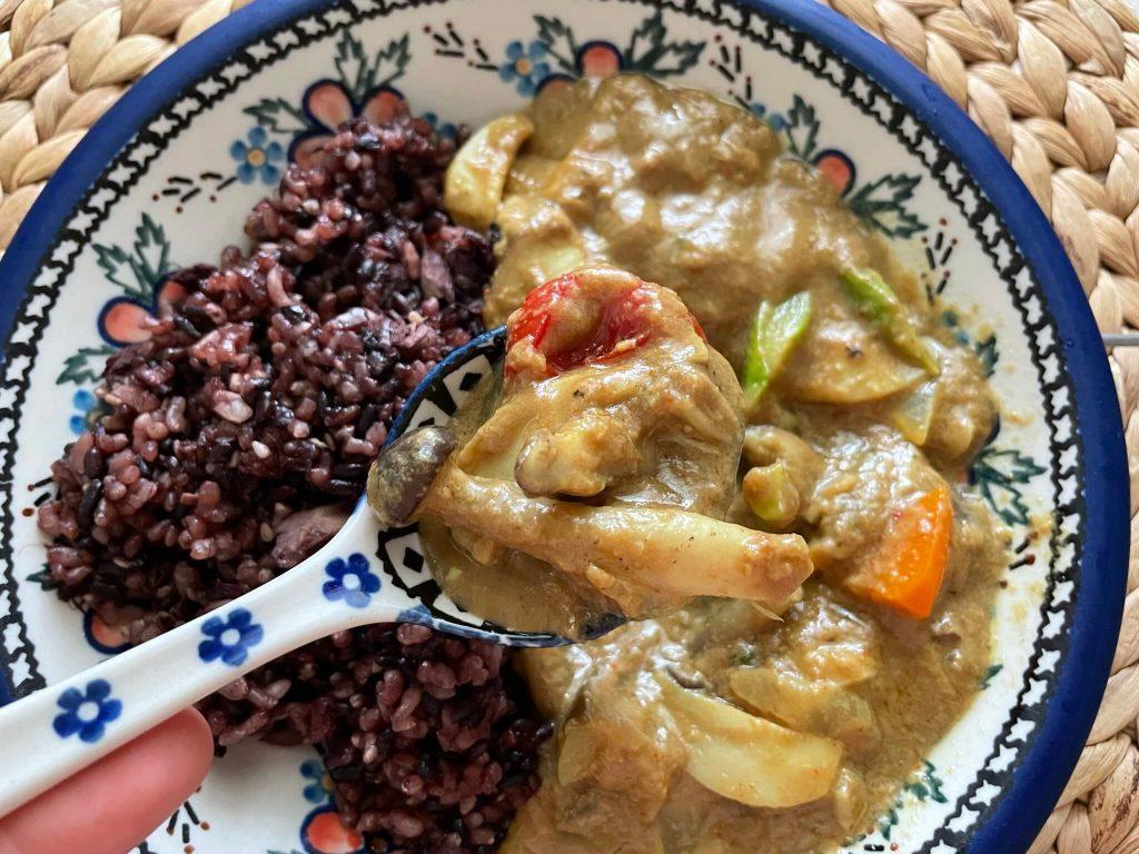 野菜たっぷり・無添加完全菜食の本格カレー宅配「Makarimo Curry」の口コミと評判29