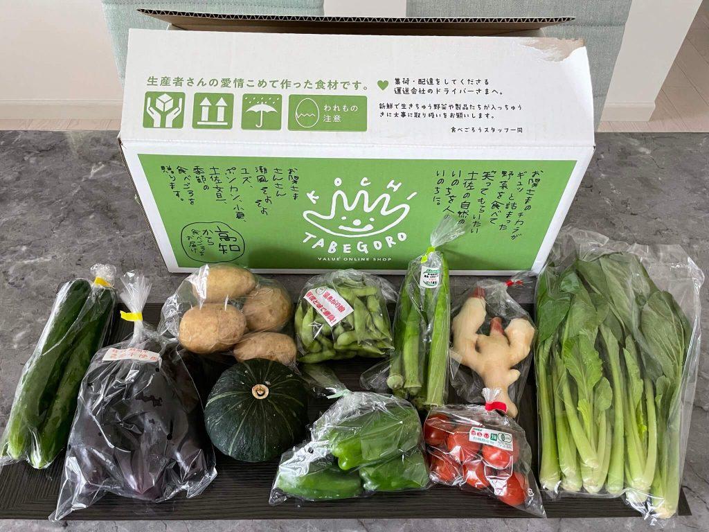 高知の有機野菜宅配「TABEGORO」の口コミ35