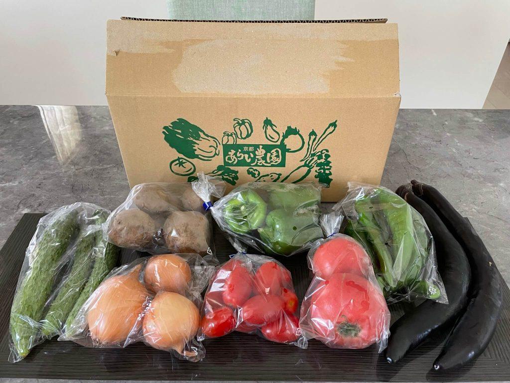 京都市の無農薬・有機肥料のオーガニック野菜宅配「あらい農園」の口コミ31