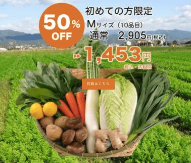 高知の有機野菜宅配「TABEGORO」の口コミ2