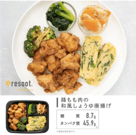 高たんぱく質・低糖質の宅配冷凍弁当「resoot home」(リソートホーム)の口コミ10