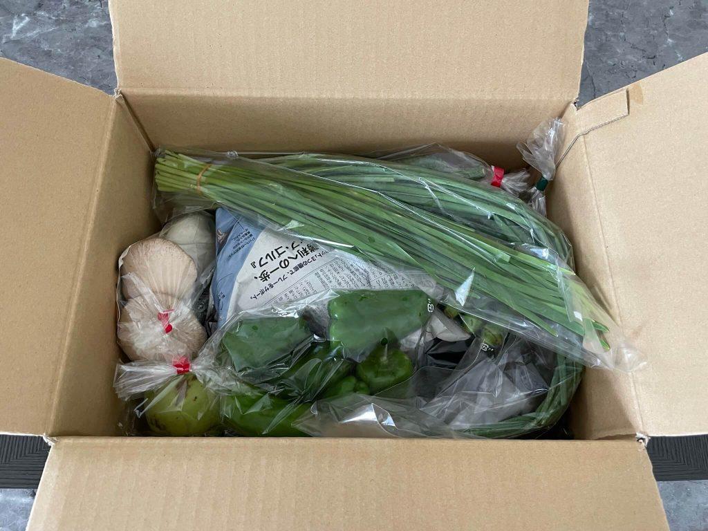 宮崎県の有機野菜宅配「自然食品店.com」のオーガニック野菜セットの口コミ12