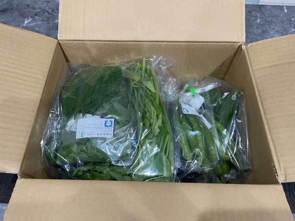 福岡・糸島の有機野菜・自然栽培野菜宅配の松の実ファーム:口コミ12