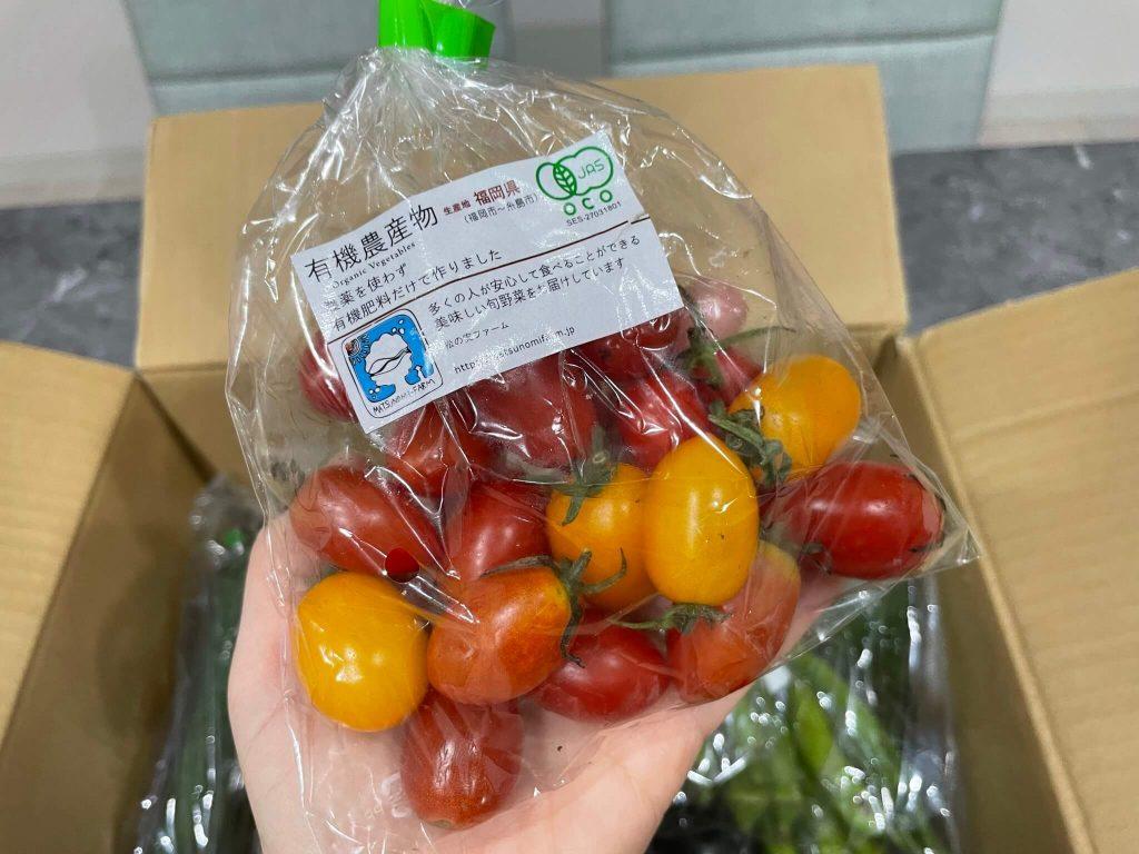 福岡・糸島の有機野菜・自然栽培野菜宅配の松の実ファーム:口コミ17