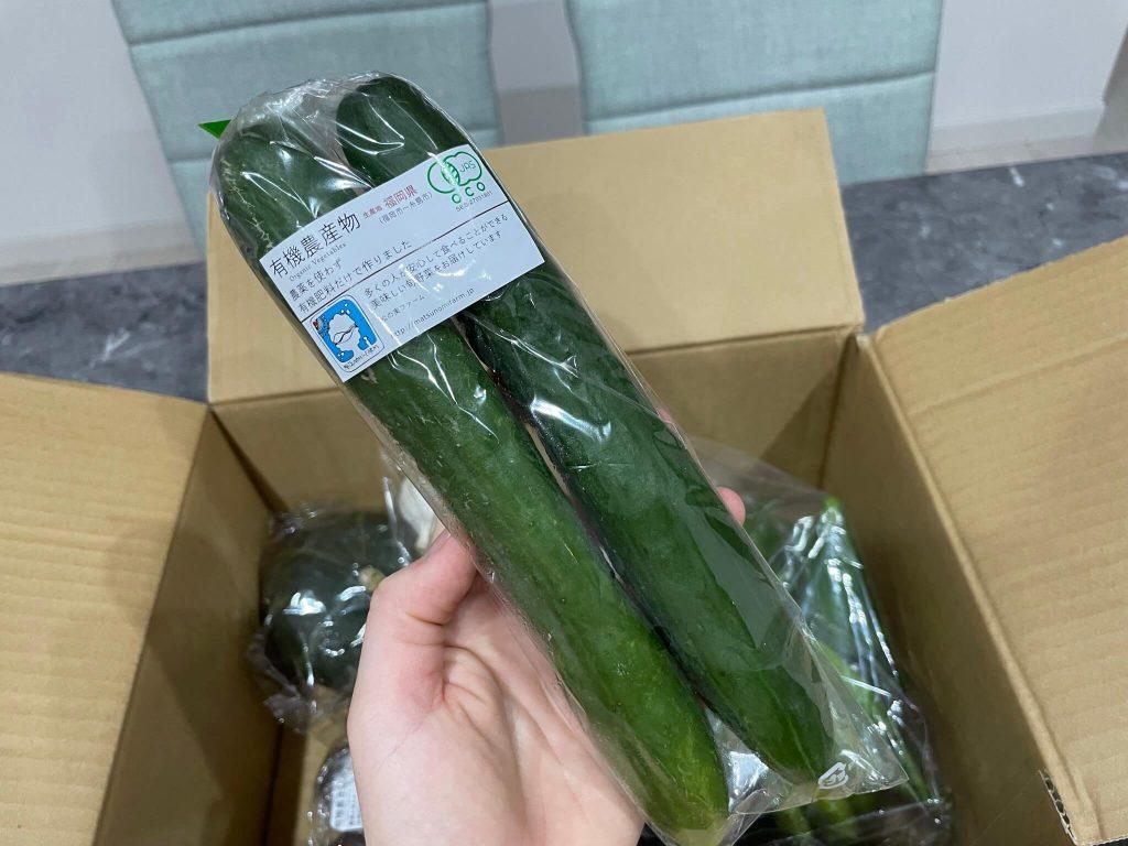 福岡・糸島の有機野菜・自然栽培野菜宅配の松の実ファーム:口コミ19