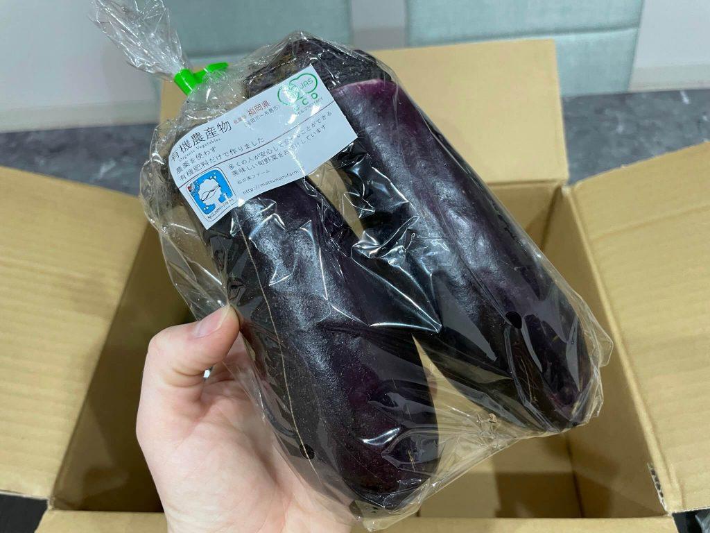 福岡・糸島の有機野菜・自然栽培野菜宅配の松の実ファーム:口コミ23